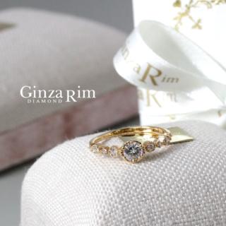 婚約指輪 ピンクゴールド